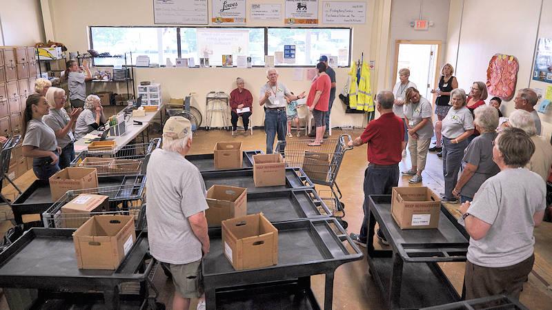 Feeding Avery County Volunteers