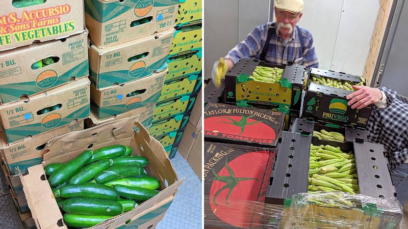 Feeding Avery Families Produce