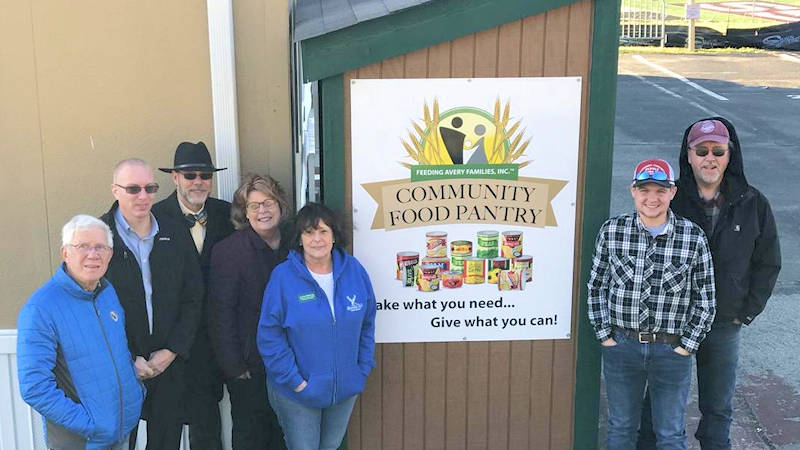 Avery Journal: Food Pantries Dedicated 1/22/20