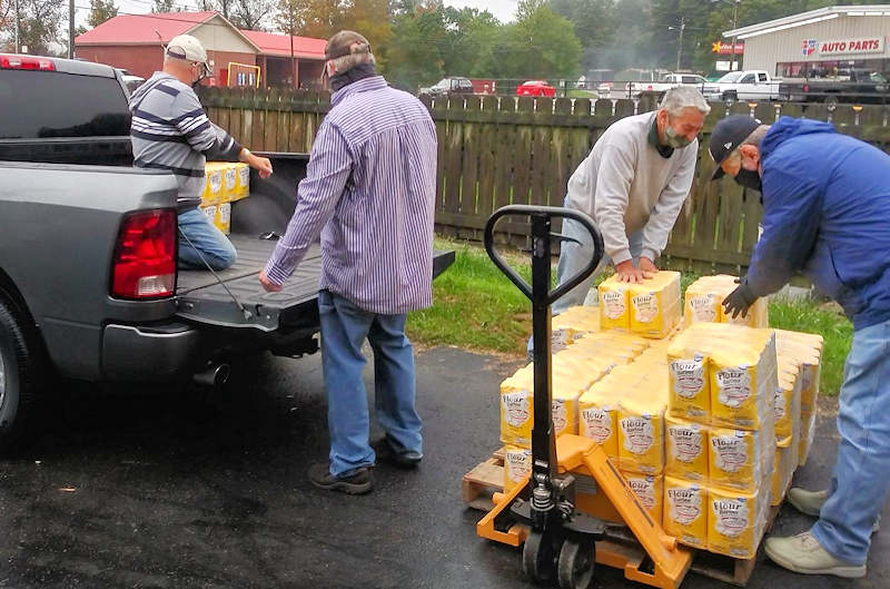 Southern Biscuit Donates Flour