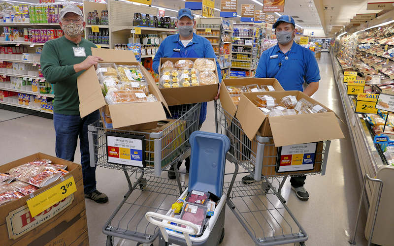 Food Lion Weekly Donations