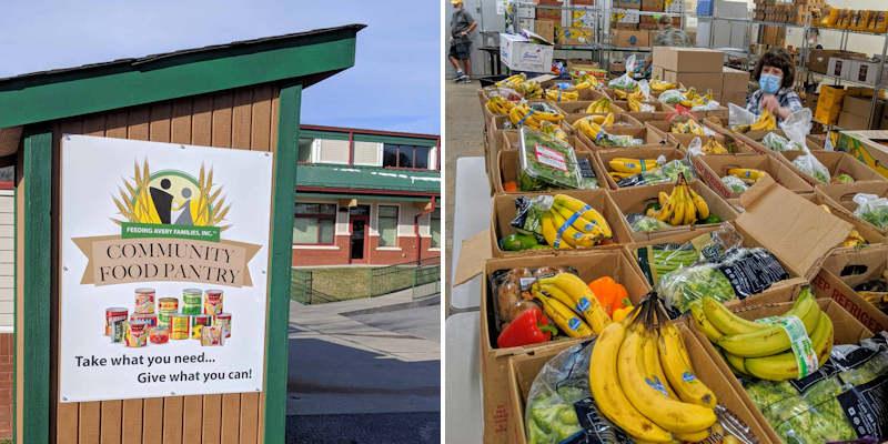 Feeding Avery Families FoodBank Western NC